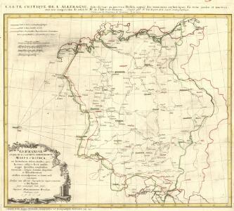 Germaniae atqve in Ea Locorvm Princip Aliorvm Mappa Critica