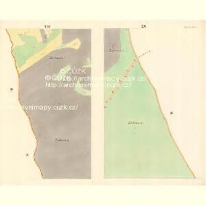 Wrazow (Wracow) - m3464-1-012 - Kaiserpflichtexemplar der Landkarten des stabilen Katasters