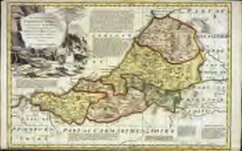 An accurate map of Cardigan Shire