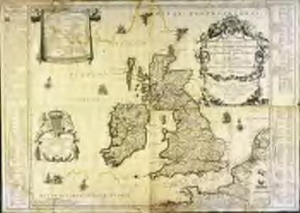 Les isles britaniques ou sont les royaumes d'Angleterre et d'Escosse que nous appellons la Grande Bretagne et celui d'Irlande