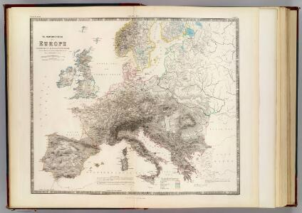 Mountains of Europe.