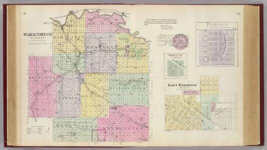 Wabaunsee Co., E. Eskridge, Fairfield & Harveyville, Kansas.