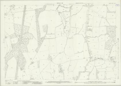 Surrey XLVI.4 (includes: Ewhurst) - 25 Inch Map