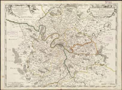 Diocese, prevoste, et eslection de Paris, e diocese est divisé en archipretrés, ou doyennés ruraux, la prevostés subalternes, et l'eslection en chastellenies... pointes
