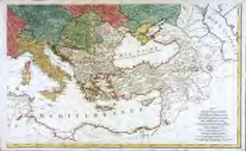 Carte générale de toute l'Europe, 2