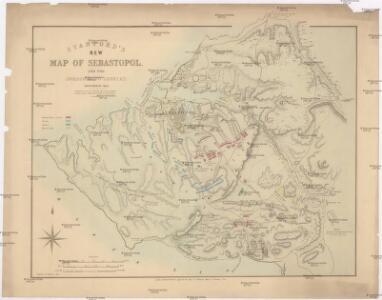 Stanford's New Map of Sebastopol