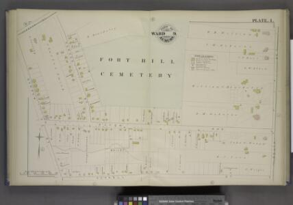 Parts of the City Auburn. Wards 9.