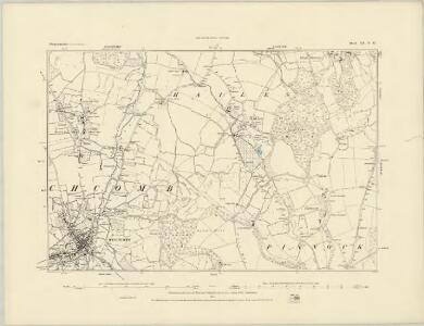 Gloucestershire XX.SE - OS Six-Inch Map