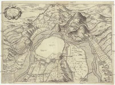 Plan de la ville et nouuelle fortification d'Alezs