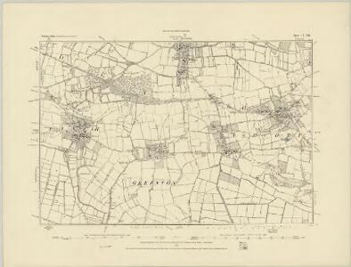 Somerset XLIII.SE - OS Six-Inch Map