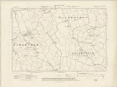 Kent LXXXI.NE - OS Six-Inch Map