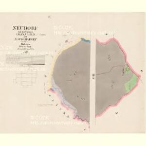 Neudorf - c5234-1-009 - Kaiserpflichtexemplar der Landkarten des stabilen Katasters