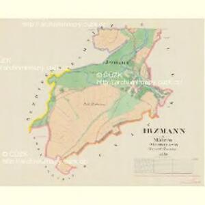 Irzmann - m1074-1-002 - Kaiserpflichtexemplar der Landkarten des stabilen Katasters