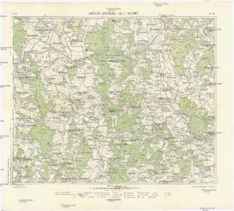 Podrobná mapa Království českého, Markrabství moravského a Vévodství slezského