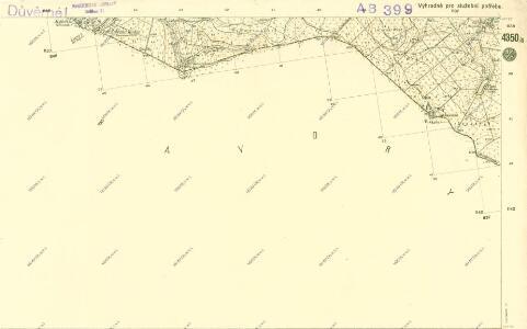 III. vojenské mapování 4350/4