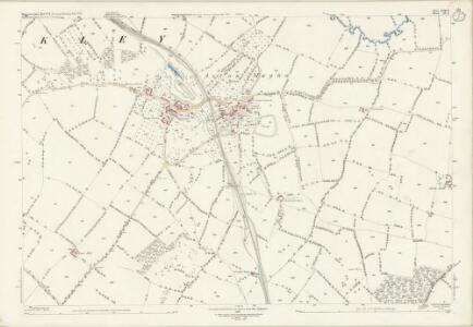 Worcestershire LVIII.6 (includes: Batsford; Blockley) - 25 Inch Map