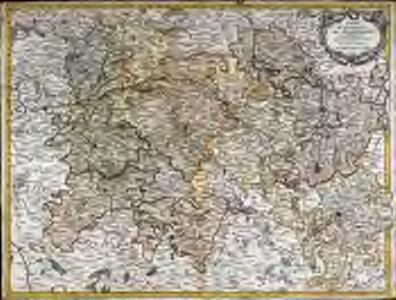 Carte de la province de Champagne partie méridionale