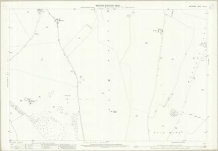 Wiltshire XLII.6 (includes: Burbage; Collingbourne Kingston; Easton Royal; Milton Lilbourne) - 25 Inch Map