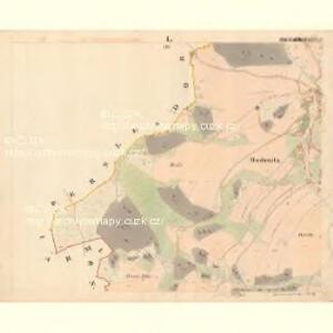 Hodenitz - c5179-2-001 - Kaiserpflichtexemplar der Landkarten des stabilen Katasters