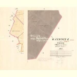 Rzimnitz - m2684-1-004 - Kaiserpflichtexemplar der Landkarten des stabilen Katasters