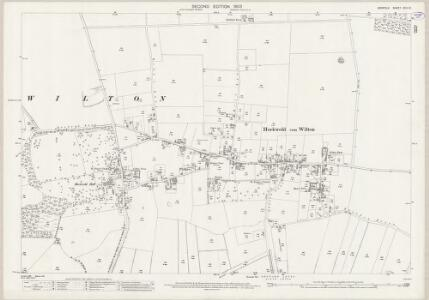 Norfolk XCII.10 (includes: Brandon; Hockwold Cum Wilton) - 25 Inch Map