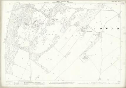 Kent LVIII.2 (includes: Northbourne) - 25 Inch Map