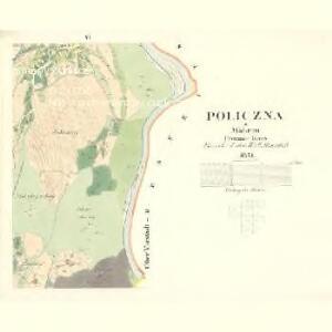 Policzna - m2353-1-006 - Kaiserpflichtexemplar der Landkarten des stabilen Katasters