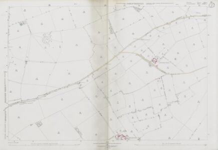 Wiltshire XIX.1 (includes: Acton Turville; Nettleton; Tormarton) - 25 Inch Map