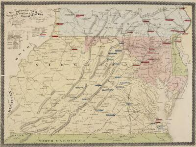 Pocket Map, showing the probable Theatre of the War. Compiled by G.A. Aschbach