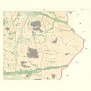 Gross Bor (Welky Bor) - c8441-1-005 - Kaiserpflichtexemplar der Landkarten des stabilen Katasters