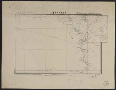 Colonie de la Côte d'Ivoire. Tiassalé. Vallées des rivières Bandama et H'Zini