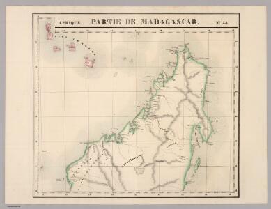 Partie de Madagascar. Afrique 55.