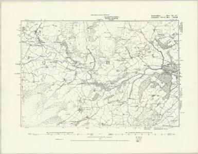 Merionethshire VI.NE - OS Six-Inch Map
