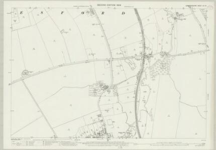 Cambridgeshire LIV.15 (includes: Duxford; Hinxton; Pampisford; Whittlesford) - 25 Inch Map