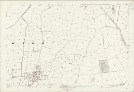 Lincolnshire LXIX.7 (includes: Doddington and Whisby; Harby; Thorney) - 25 Inch Map