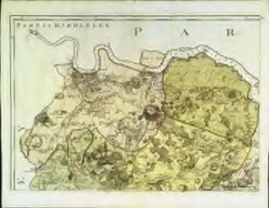 A topographical-map, of the county of Kent, No. 1