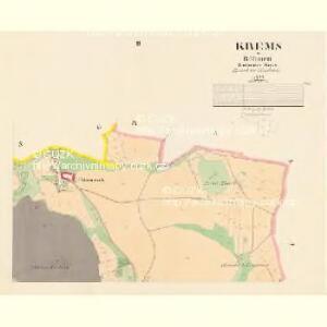 Krems - c3617-1-002 - Kaiserpflichtexemplar der Landkarten des stabilen Katasters