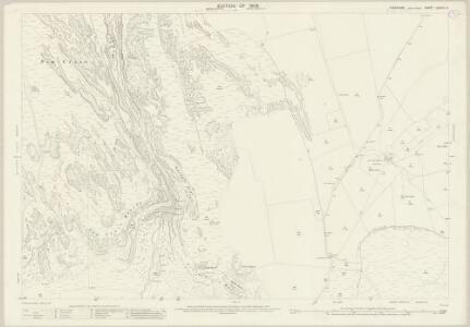 Yorkshire CXXXIII.6 (includes: Bordley; Malham Moor; Malham) - 25 Inch Map