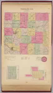 Cowley Co., Burden and Wilmot, Kansas.
