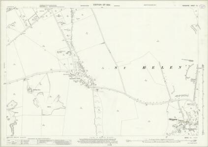 Berkshire X.1 (includes: Abingdon St Helen Without; Marcham; Wootton) - 25 Inch Map