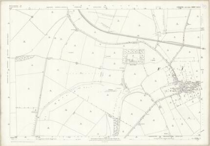 Yorkshire CLX.2 (includes: Fimber; Fridaythorpe; Wharram) - 25 Inch Map