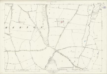 Worcestershire XLIX.6 (includes: Charlton; Elmley Castle; Evesham; Hinton on the Green; Netherton) - 25 Inch Map