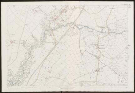 Devon LXXXVIII.13 (includes: Brentor; Bridestowe; Lydford; Marytavy; Petertavy) - 25 Inch Map