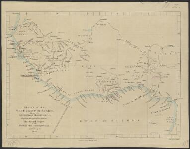 Sketch of the West Coast of Africa from the Senegal to Fernando Po