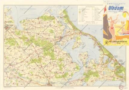 Bäderkarte Usedom