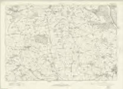 Derbyshire XXXIX - OS Six-Inch Map