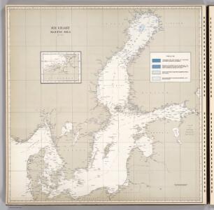 Ice Chart, Baltic Sea, June.