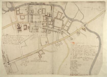 Manuscript Plan of Cambridge 44