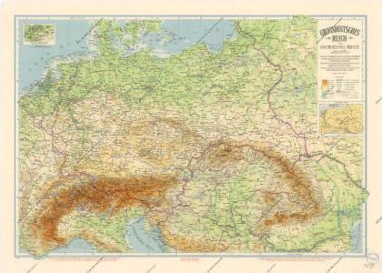 Grossdeutsches Reich und angrenzende Gebiete