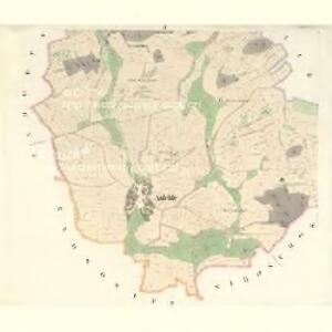 Aulehle - c8240-1-002 - Kaiserpflichtexemplar der Landkarten des stabilen Katasters